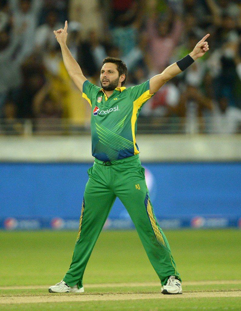 Shahid Afridi (Pakistán)
