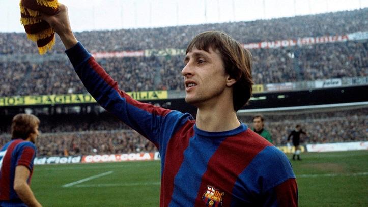 Johan Cruyff fue una de las piezas claves para el juego de los culés.