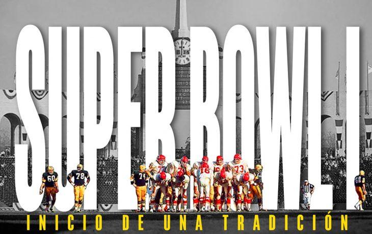 Super Bowl I, 15 de enero de 1967, entre los Chiefs y los Packers
