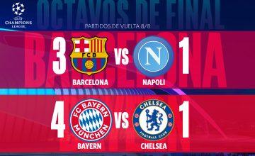 Resultados de la jornada de la Champions