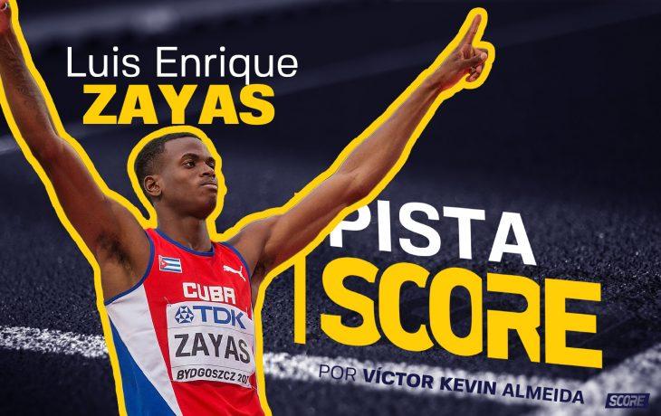 Luis Enrique Zayas, saltador de altura cubano.
