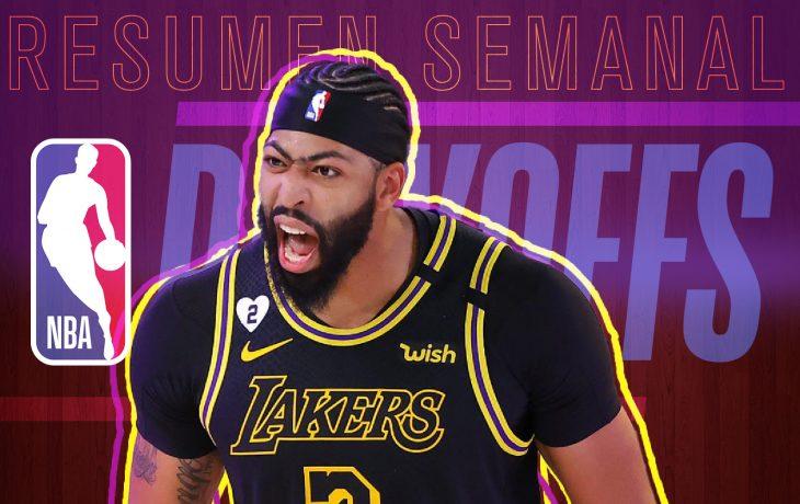 Anthony Davis fue el héroe para los Lakers al final de encuentro.
