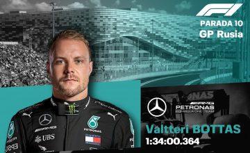 Bottas gana el Gran Premio de Rusia.
