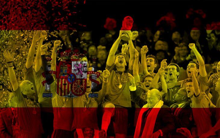 España campeón del Mundial de Fútbol de Sudáfrica 2010.
