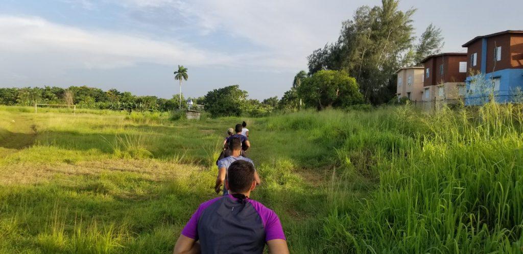 Integrantes del Santa Fe Running Club entrenando