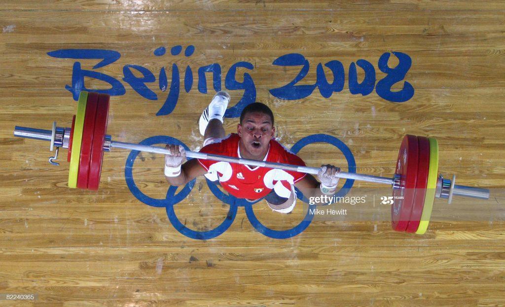 Sergio Álvarez terminó sexto en los Juegos Olímpicos de Beijing 2008