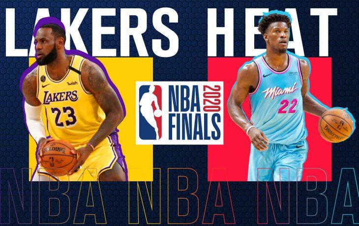 Lakers vs Heat en la gran final de la NBA