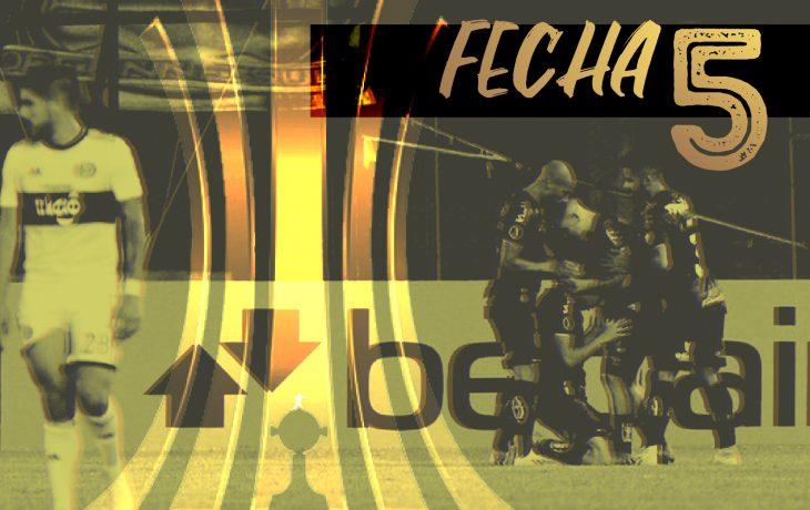 La Copa Libertadores finalizó su quinta jornada.