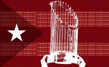 Cubanos en Series Mundiales de la MLB.
