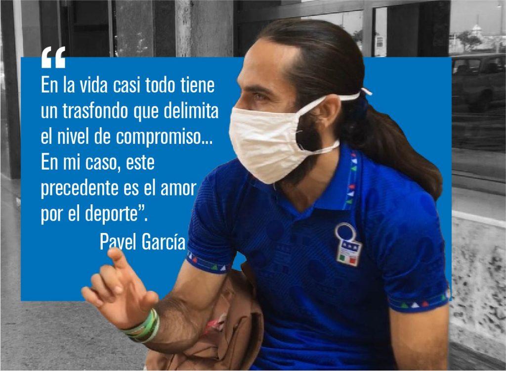 Pavel García, abogado de profesión y líder del proyecto, ha dedicado 16 años de su vida al desarrollado de la comunidad citadina